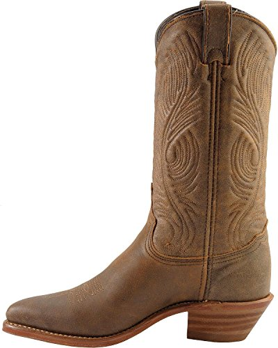 Abilene Womens Bomber Leather Cowgirl Laars - 9059 Roughout