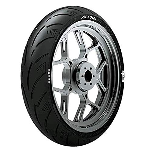 Apollo ALPHA S1 130/70 R17 62H Steel Belted Radial Tubeless Rear Tyre For Bajaj Pulsar RS 200 in India 2021