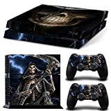Vinyl Decal Protective Skin Cover Sticker for Sony PS4 Console And 2 Dualshock Controllers #17