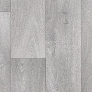 3m x 3m tarkett grey storm oak wood effect cushion floor for Wood effect vinyl flooring bathroom