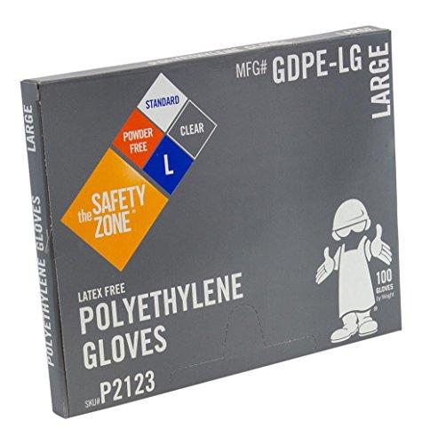 Safety Zone GDPE-LG High Density Clear Polyethylene PE Dispo