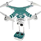 MightySkins Protective Vinyl Skin Decal for DJI Phantom 3 Professional Quadcopter Drone wrap cover sticker skins Circles
