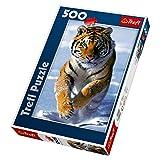 Trefl Snow Tiger Jigsaw Puzzle, 500-Piece