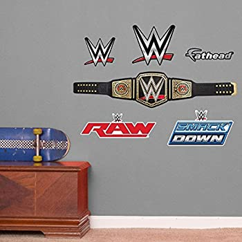 Fathead WWE Title Belt Junior Peel And Stick Wall Decals Part 5