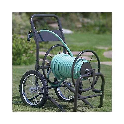 2 Wheel Commercial Grade Hose Reel Cart
