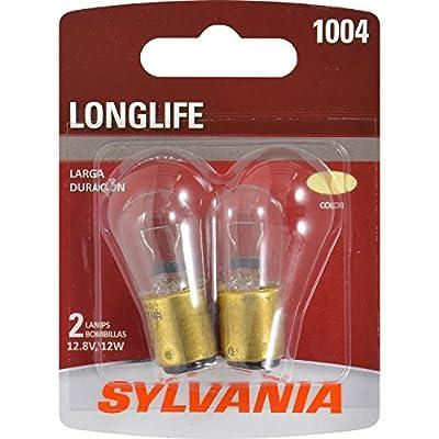 SYLVANIA 1004 Long Life Miniature Bulb, (Contains 2 Bulbs)