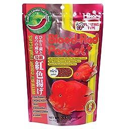 Hikari 330340 Blood, Red Parrot+, Mini Pellets, 333g