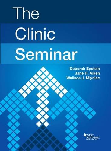 The Clinic Seminar (Coursebook)