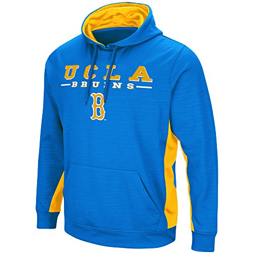 (Colosseum UCLA Bruins Hoodie Performance Fleece Pullover Jacket (Large))
