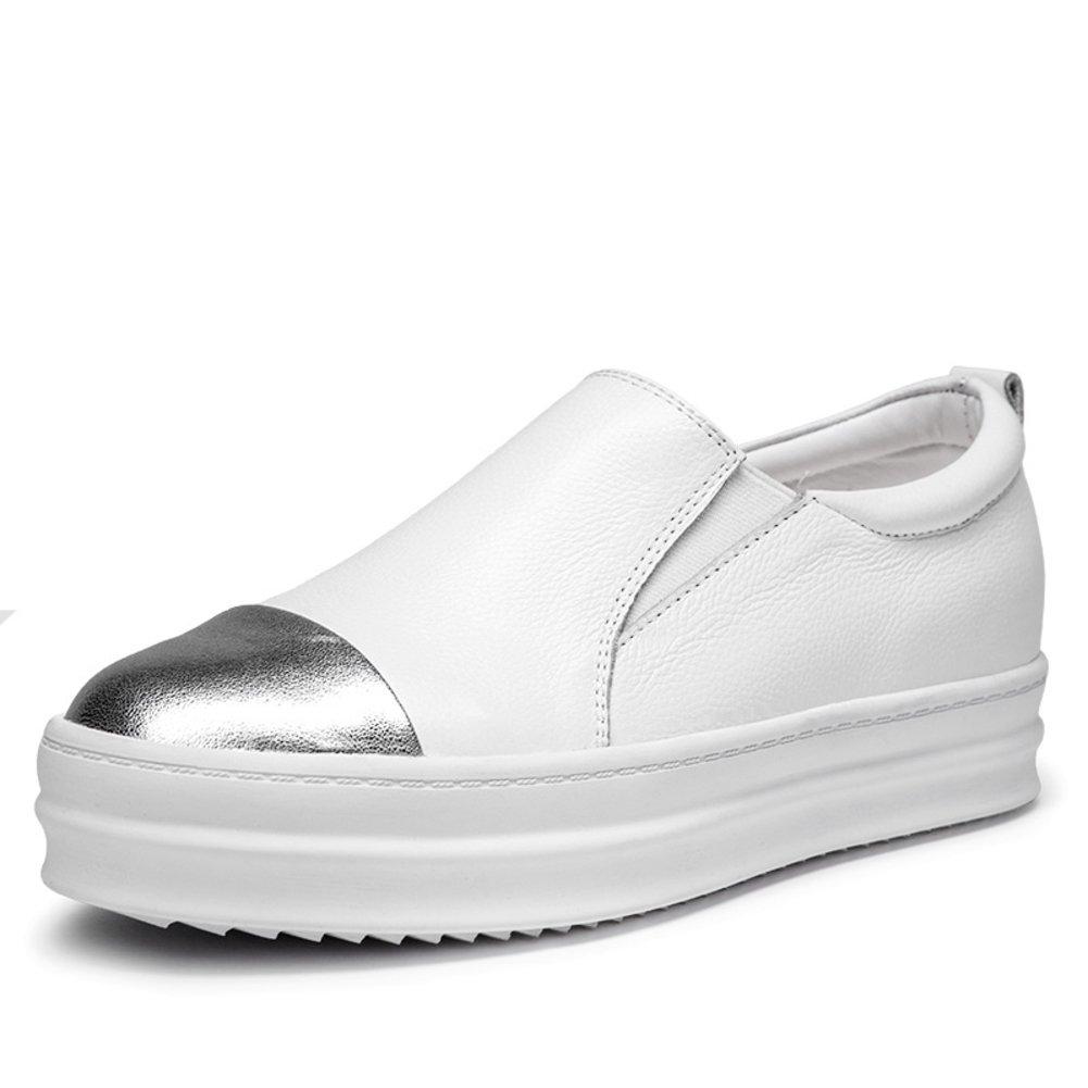 WLJSLLZYQ Frühling Lok Fu-Schuhe/Weibliche dicken Sohlen Freizeitschuhe Fuß gesetzt/Bequeme gesetzt/Bequeme Fuß Schuhe/Flache Schuhe B 502cd1