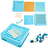 Generic 100 Holes Size 0 Manual Capsule Filling Machine Filler Board Plate Kit One Piece