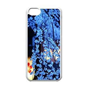 DIY Cherry blossoms Phone Case for iPhone 5c, Cherry blossoms Iphone 5C Cell Phone Case, Customized Cherry blossoms iPhone 5c Case