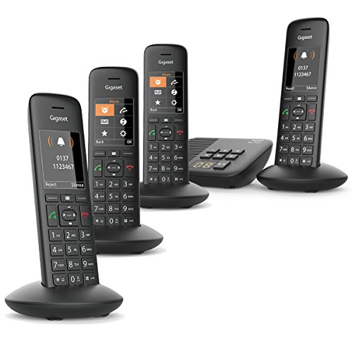 Gigaset Premium C570A Cordless Phone (Quad Handset, C570A Quad)