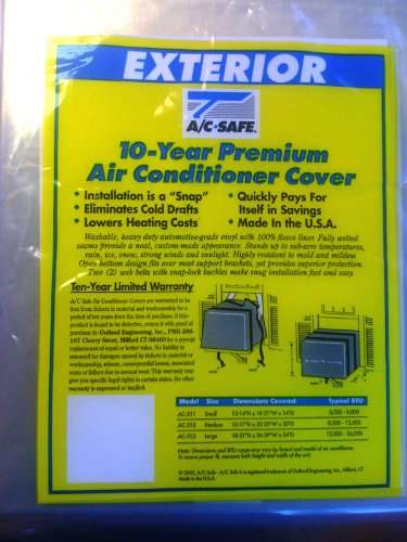 AIR CONDITIONING WINDOW UNIT LARGE EXTERIOR COVER by AC Safe