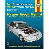 Ford Crown Victoria & Mercury Marquis: 1988 thru 2011