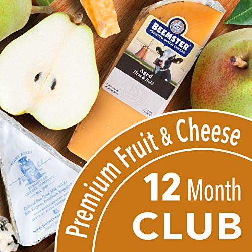 Golden State Fruit Monthly Fruit and Cheese Club (Premium Version) - 12 Month Club ()