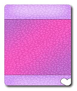 calendar mouse pads Pink Love PC Custom Mouse Pads / Mouse Mats Case Cover