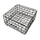KUFA Sports S60 Vinyl Coated Steel Wire Crab Trap, 24-Inch