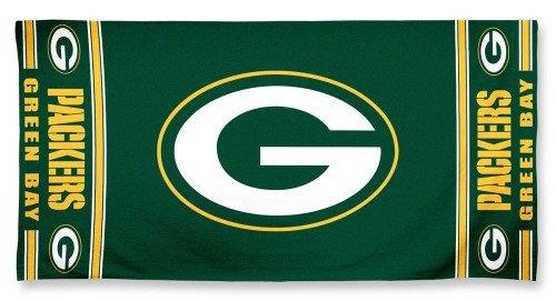 WinCraft NFL Green Bay Packers A1874515 Fiber Beach Towel, 9 lb/30
