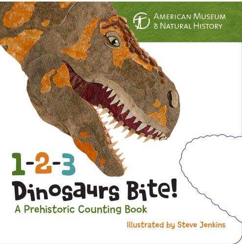 1-2-3 Dinosaurs Bite: A Prehistoric Counting Book ebook