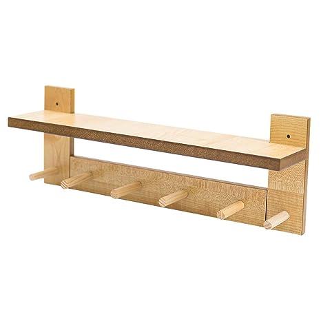 Amazon.com: Nordic - Gancho de madera multifunción para ...