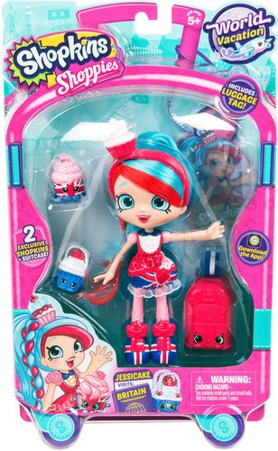 Shopkins World Vacation  Shoppies Doll - Jessicake