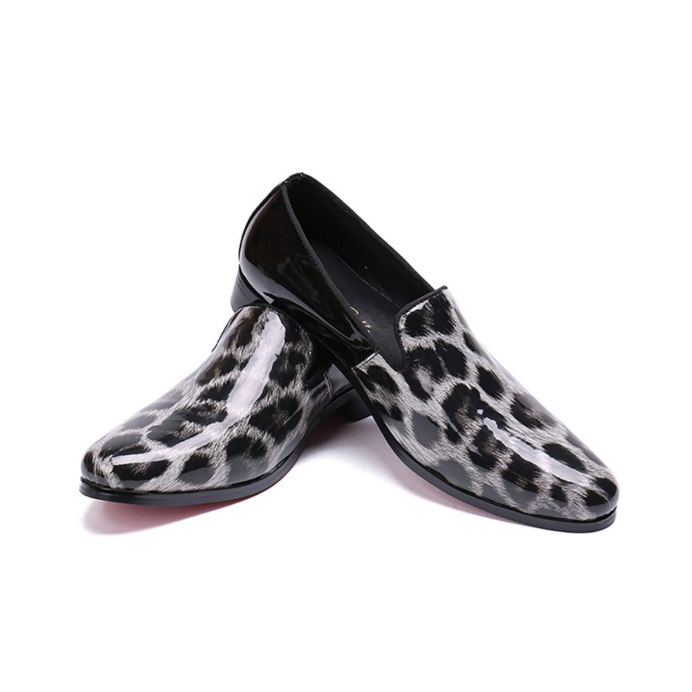 FHTD Zapatos Transpirables De La Caída Caída La Zapatos Mocasines Planos Para Hombre Zapatos De Vestir De Cuero Zapatos f8eaa8