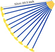 """Sucker Arrows Kids Hunting, 20.5"""" - 16.8""""/52-42cm Archery Sports Toy with Safe Suction Cup Arr"""