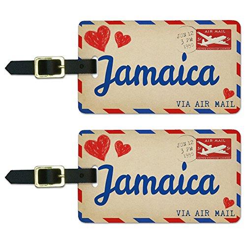 Postcard Jamaica Luggage Suitcase Carry