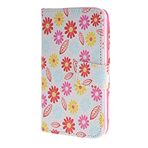 MOONCASE para Samsung Galaxy S5 Case Funda Carcasa Cuero Tapa Cartera Case Cover YZ01