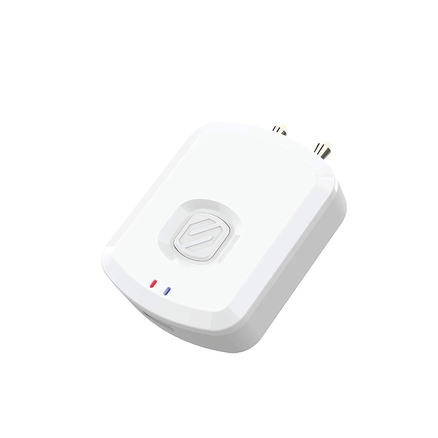 SCOSCHE BTTWT-SP FlyTunes Universal Portable Bluetooth 4.1 Wireless Audio Transmitter for Use with AirPods, Earbuds/Headphones, TV's and More - White