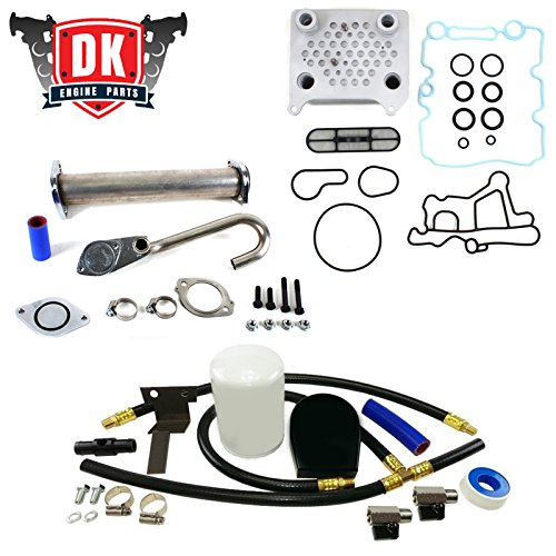 2003-2010 Ford 6.0L Powerstroke EGR Valve Oil Cooler Coolant Filtration Kit