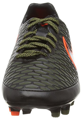 Nike Mens Magista Orden Fg Tacchetta Da Calcio Nera / Nera / Rgh Grn / Hypr Crmsn