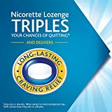 Nicorette 4mg Nicotine Lozenges to Quit Smoking