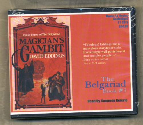 Magician's Gambit by David Eddings Unabridged CD Audiobook (The Belgariad) (Pawn Of Prophecy Cd)