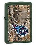 Zippo Camouflaged Tennessee Titans Green Matte Lighter