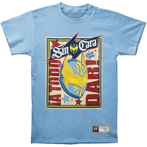 WWE Men's Sin Cara T-Shirt Blue