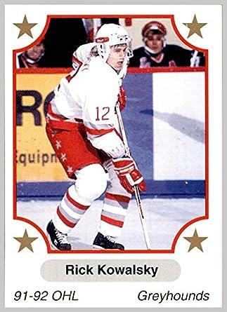 1991-92 7th Inning Sketch OHL Ontario Hockey League Canada