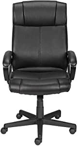 Staples 934103 Turcotte Luxura High Back Office Chair Black