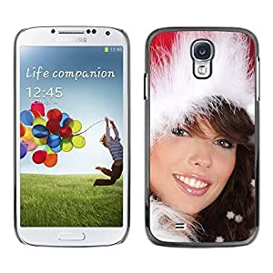 YOYO Slim PC / Aluminium Case Cover Armor Shell Portection //Christmas Holiday Sexy Hot Girl Woman 1020 //Samsung Galaxy S4