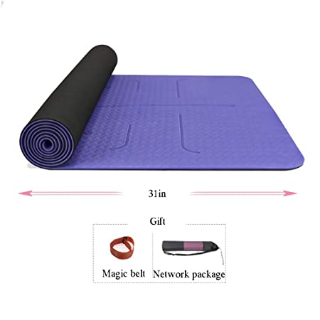 KPKP Las colchonetas de Yoga para Ejercicios de Yoga Mat ...