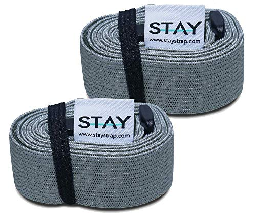 Stay Straps Beach Chair Towel Clip Holder | Prevent Your Towel from Blowing Away | Multi-Purpose, Lightweight and Adjustable Straps | - Stay Strap