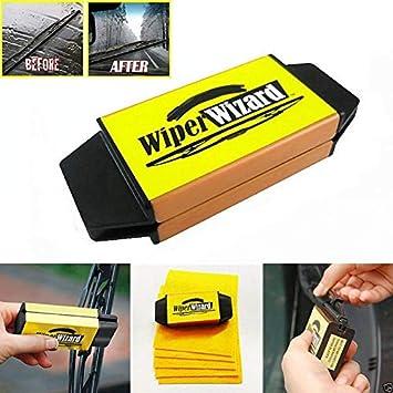 hallenwerk Wiper Wizard Windscreen Wiper Cleaning Rubber Wiper Lip Recutter Repair Tool for Damaged Rubber Layer