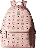 MCM Unisex Stark Side-Stud Small Medium Backpack Soft Pink One Size