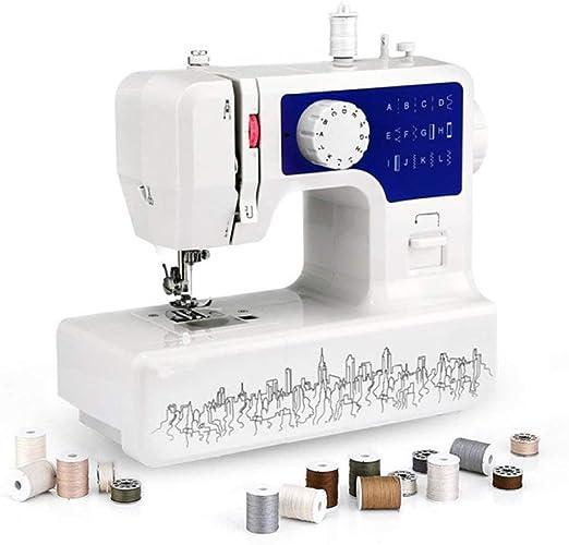 Ringdoors Máquina De Coser -12 Agujas Máquina De Coser Multifunción,Costura Automática, Display Multifunción,Principiantes y Personas Que Les Gusta Crear: Amazon.es: Hogar