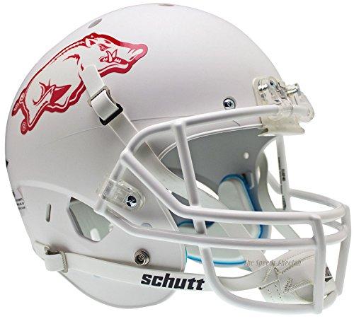 Arkansas Razorbacks White Officially Licensed Full Size XP Replica Football Helmet