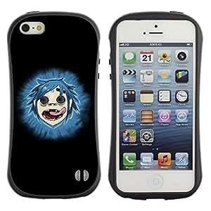Fuerte Suave TPU GEL Caso Carcasa de Protección Funda para Apple Iphone 5 / 5S / Business Style Gorillas