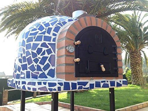 Garden Secrets Mediterrani azul mosaico - Horno de leña para ...