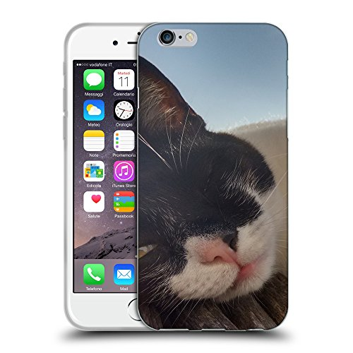 Just Phone Cases Coque de Protection TPU Silicone Case pour // V00004304 ruse espionnage de chat // Apple iPhone 6 4.7""