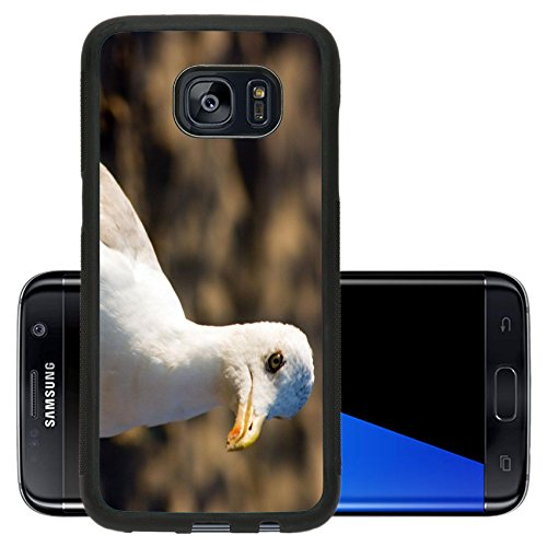 Concave Legs (Liili Premium Samsung Galaxy S7 Edge Aluminum Backplate Bumper Snap Case IMAGE ID: 234477 Seagull on the)